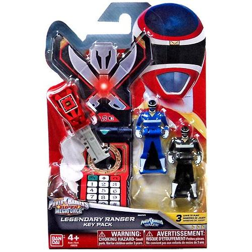 Power Rangers Super Megaforce Legendary Ranger Key Pack Roleplay Toy [Space]