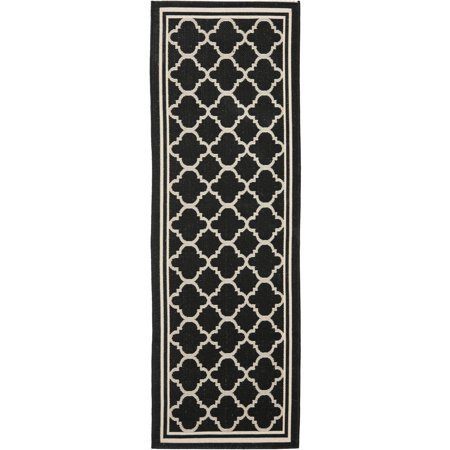 Safavieh courtyard alina indoor outdoor runner rug for Indoor outdoor runners rugs