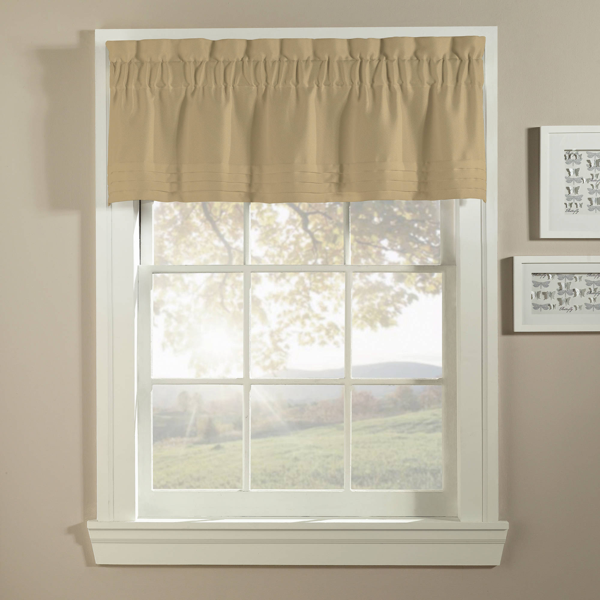 CHF & You Basketweave Tailored Valance