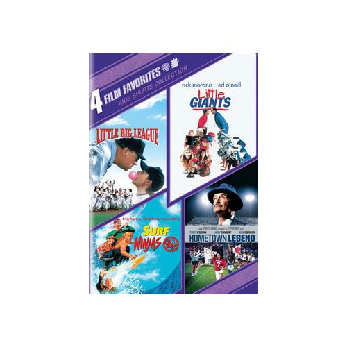 4 Film Favorites: Kids Sports Collection by WARNER HOME ENTERTAINMENT