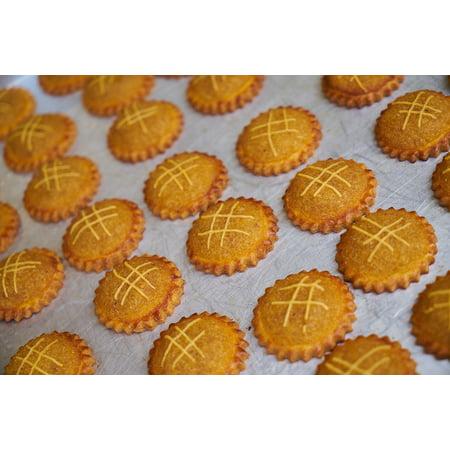 Home Gourmet Food - LAMINATED POSTER Macro Food Gourmet Brown Pattern Sweet Cookies Poster 24x36 Decal