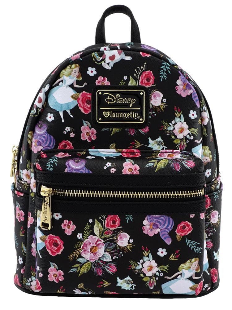 Tondgs Cheshire CAT Children Pure CottonBackpack Daypack Bookbag Laptop School Bag Black