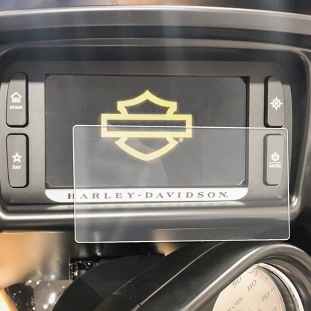 - 2014-2018 Compatible with Harley Davidson Road Glide Boom Box Motorcycle Screen Saver 1pc Custom Fit Invisible High Clarity Touch Display Protector Minimizes Prints 6.5 Inch