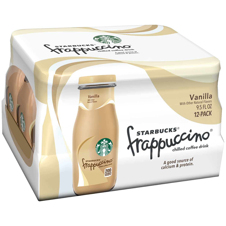 Starbucks Frappuccino White Chocolate Mocha Coffee Drink, 13.7oz ...