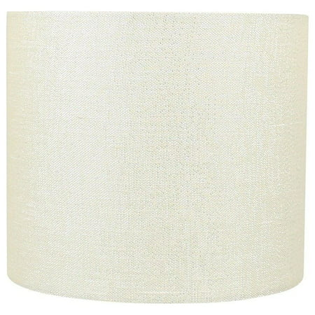 Metallic Shade (Urbanest Classic Drum Metallic Fabric Lamp Shade, 8x8x7