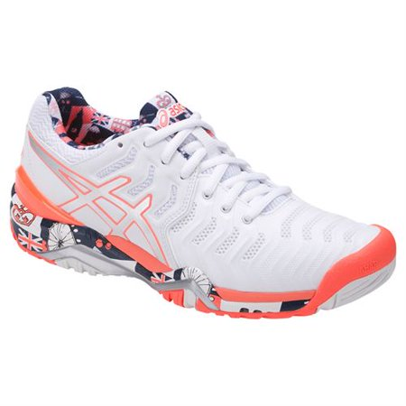 Asics Gel Resolution 7 Limited Edition London Womens Tennis Shoe Size: 11