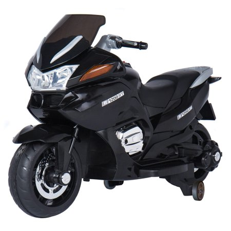 12V Motorcycle Battery-Operated Ride-On, Black - New Ducati Motorcycle