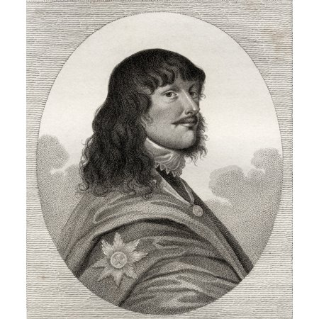 James Stanley 7Th Earl Of Derby 1607 1651 Aka Baron Strange Byname Great Earl Of Derby Prominent Royalist From The Book A Catalogue Of Royal And Noble Authors Volume Iii Published 1806 Posterprint