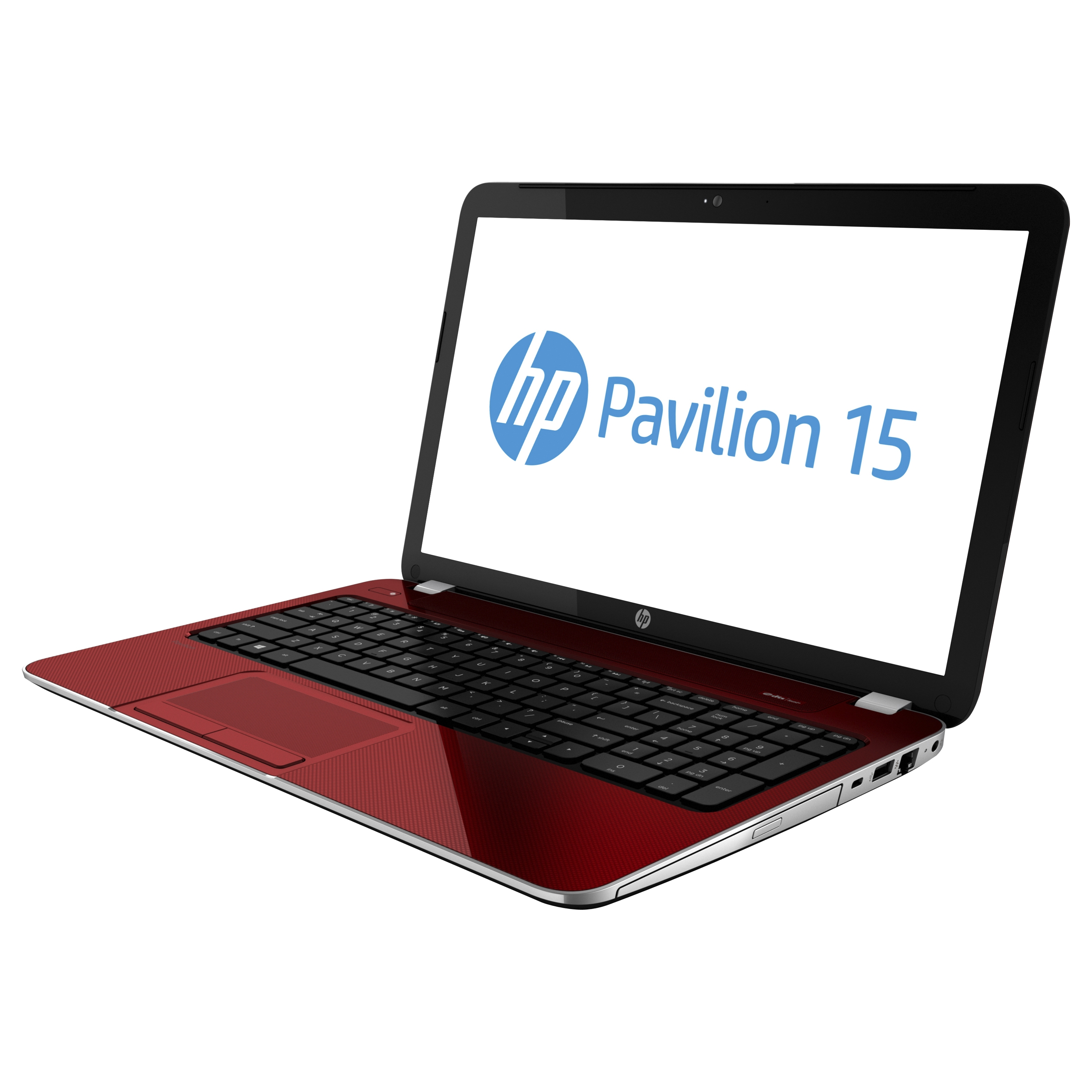 """HP Red 15.6"""" Pavilion 15-e014nr Laptop PC with AMD Elite A4-5150M Accelerated Processor, 4GB Memory, 500GB Hard Drive and Windows 8"""