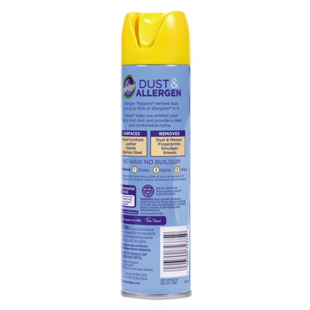 Pledge Dust Allergen Furniture Spray 9 7 Oz Best Surface Care Protection