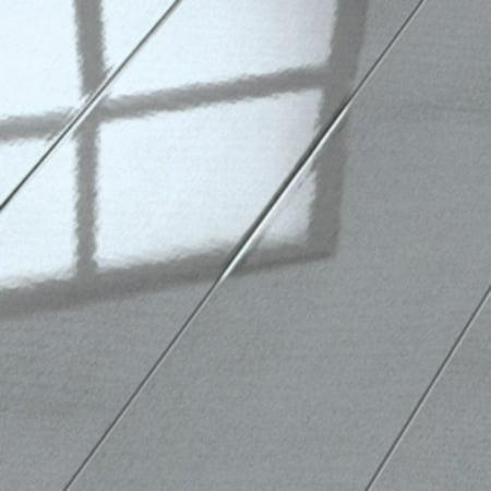 - Elesgo Glamour Life Super Gloss Floor Metallic Grey Laminate Floor 20.66 Sq. F.