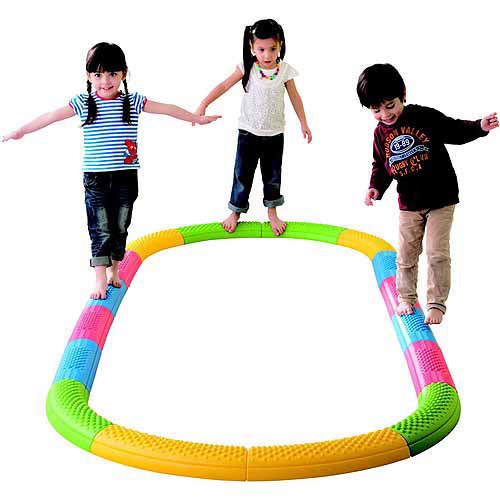 "Kiddies Paradise Tactile Balance Beam Set, 19"" x 5.25"" x 2.5\ by Kiddies Paradise"
