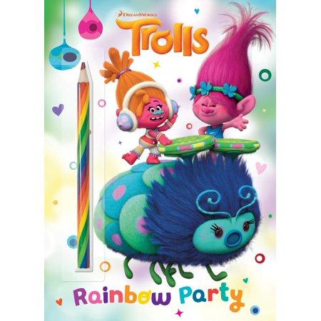 Rainbow Party! (DreamWorks Trolls) - Children's Halloween Music List