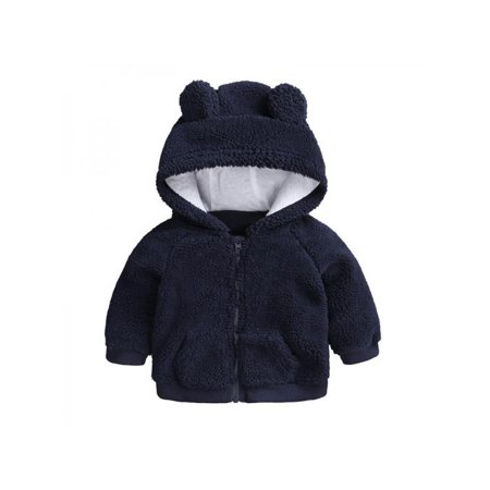 7438bb810 Ropalia - Ropalia Toddler Baby Girl Warm Ears Hoodie Clothes Infant ...