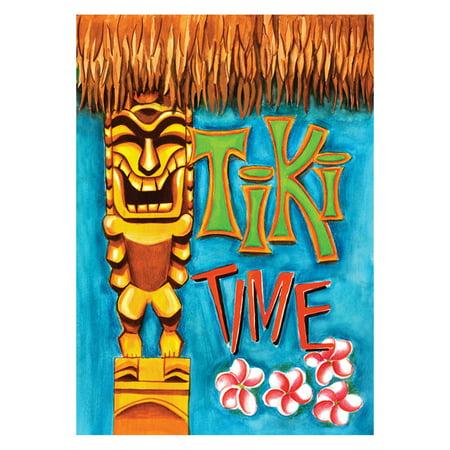 Toland Home Garden Tiki Time Flag - Flags In Bulk