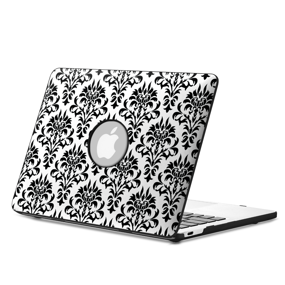 """Fintie 12"""" MacBook Retina Case (A1534) - PU Leather Coated Hard Cover Snap On Protective Case, Versailles"""