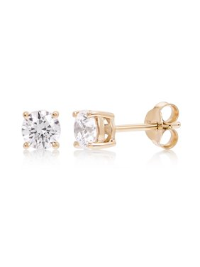 Product Image Cubic Zirconia Round Stud Earring made with Zirconia from Swarovski