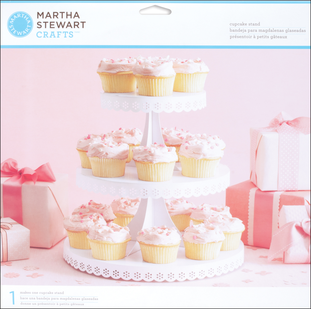 Martha Stewart Three-Tiered Cupcake Stand