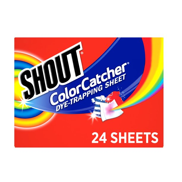 Shout Color Catcher, Dye-Trapping Sheets, 24 Sheets