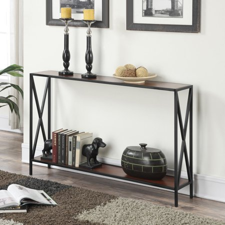 Convenience Concepts Tucson Console Table Nutmeg Console Table