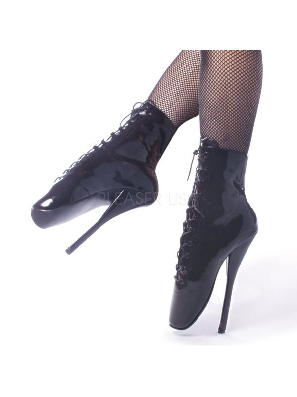 "BAL1020/B Devious Single Soles 7"" Ballet Shoes BLACK Size: 13"