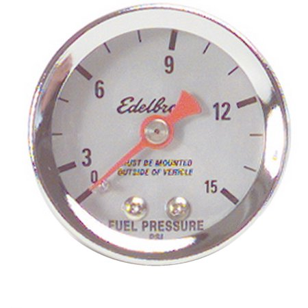 Nitrous Fuel System - Edelbrock 73831 50 Nitrous System Fuel Pressure Gauge