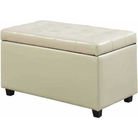 ... Cosmopolitan Medium Storage Ottoman Bench - Cosmopolitan Medium Storage Ottoman Bench - Walmart.com
