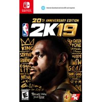 Deals on NBA 2K19 Anniversary Edition, 2K, Nintendo Switch