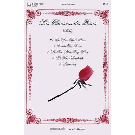 Peer Music En une seule fleur (In a single flower) (from Les Chansons des Roses) SATB a cappella by Morten Lauridsen](Chansons Halloween En Francais)