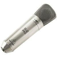 Behringer B-2 PRO Gold-Sputtered Large Dual-Diaphragm Studio Condenser Microphone w/ Traktion 4 Audio Software
