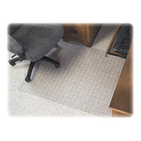 Checkered Mat- with Lip- 36in.x48in.- Lip 20in.x12in.- Clear - image 1 de 1