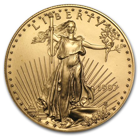 1997 1 oz Gold American Eagle BU (Price Of 1 Oz Gold American Eagle)