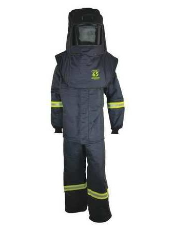 TCG65™ Series Arc Flash Hood, Coat, & Bib Suit Set 4XL OBERON COMPANY TCG5B-4XL
