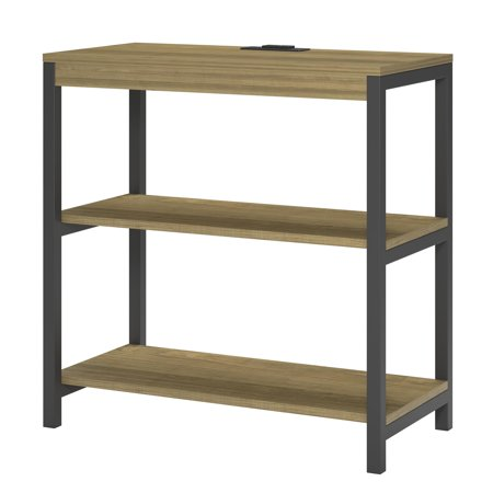 - Ameriwood Home Nickle Creek 3 Shelf Bookcase, Golden Oak