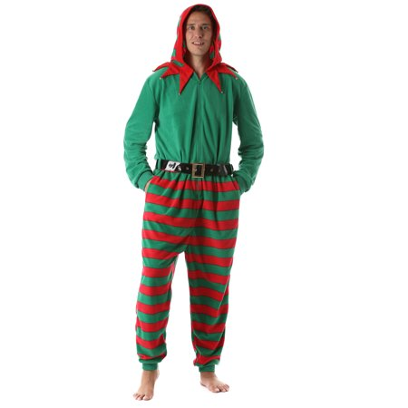 followme Mens Christmas Adult Onesie Xmas (Elf 06170f79e