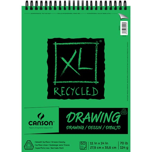 Canson XL Series Recycled Drawing Pads