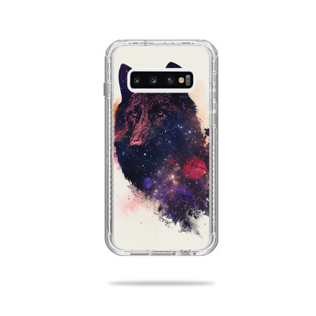 Skin For Lifeproof Next Case Samsung Galaxy S10+ - Universal Wolf | MightySkins Protective, Durable, and Unique Vinyl Decal wrap cover | Easy To Apply, Remove, and Change Styles