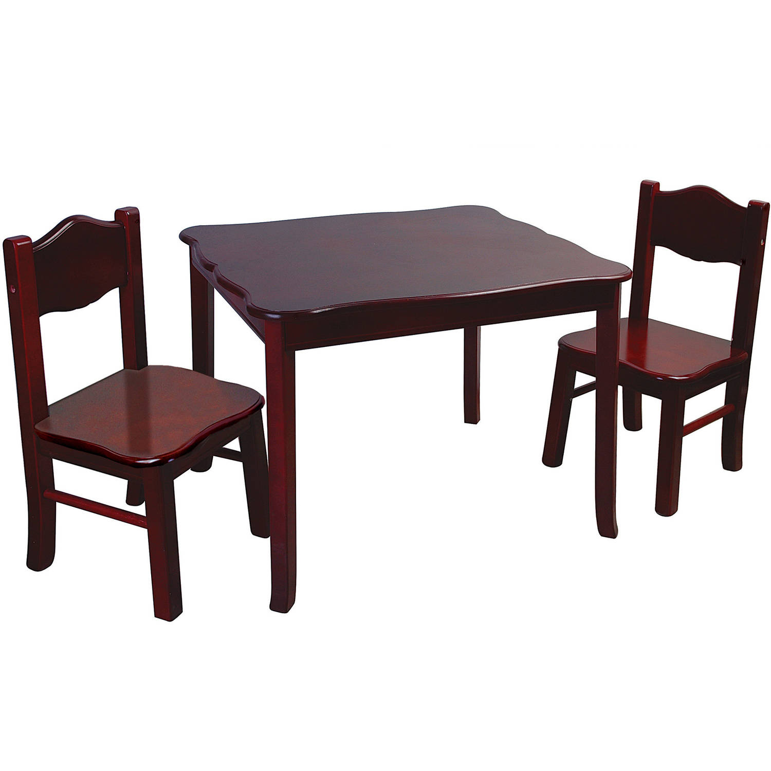Table Set For Kids Guidecraft Table And Chairs Set Classic Espresso Walmartcom