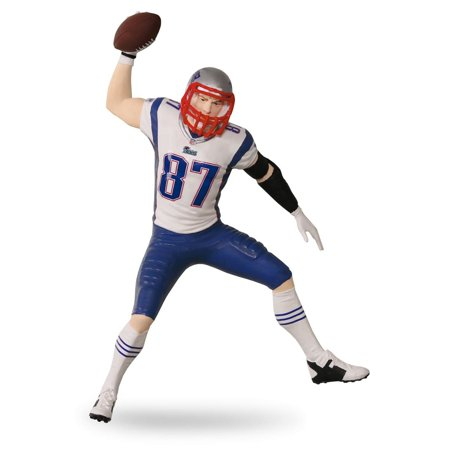 Football Player Ornament - Hallmark Ornament 2016 Football Legends #22 - Rob Gronkowski - New England