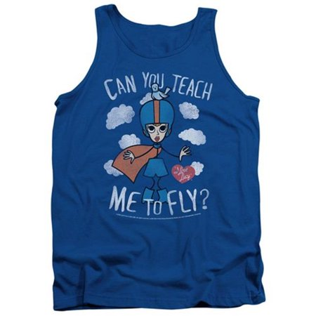 Lucy-Fly Adult Tank Top, Royal Blue - XL - image 1 de 1