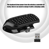 HURRISE Mini Wireless Controller Keyboard Controller Chat Keyboard For Xbox One