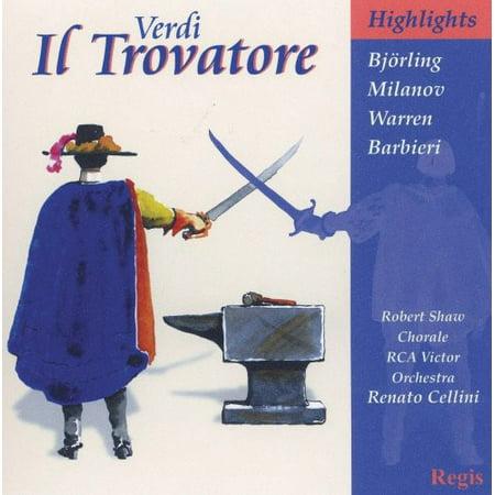 Il Trovatore (Highlights) (CD) - Il Trovatore Highlights