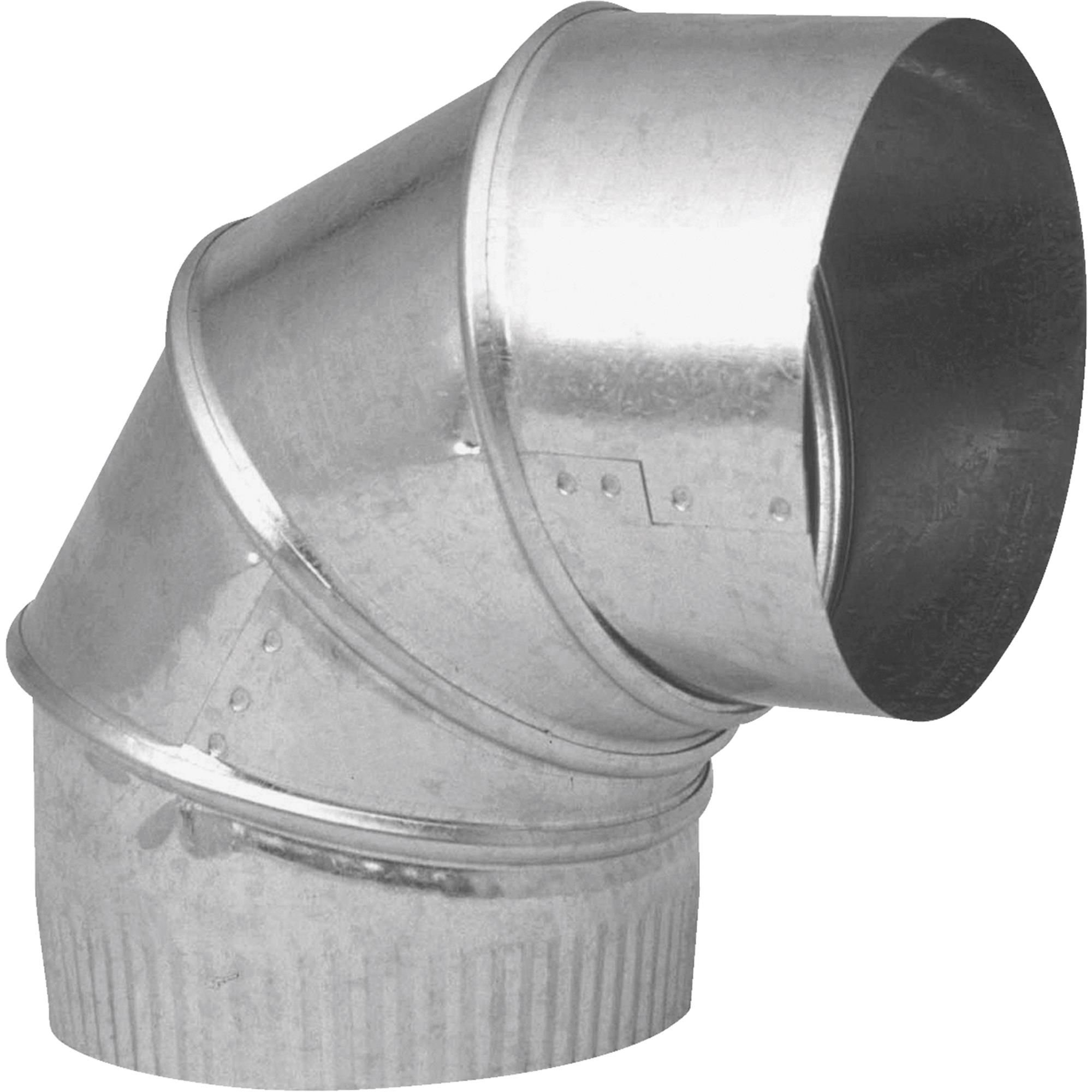 Galvanized Adjustable Elbow