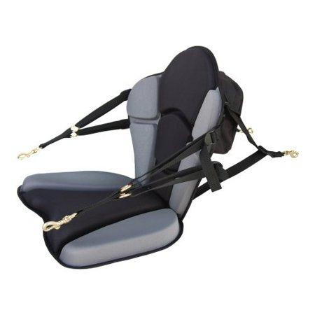 GTS Expedition Molded Foam Kayak Seat - Standard Zipper Pack Comfortable Padded Kayak  Boat Seat Fishing Seat Adjustable Backrest Back Support Seat