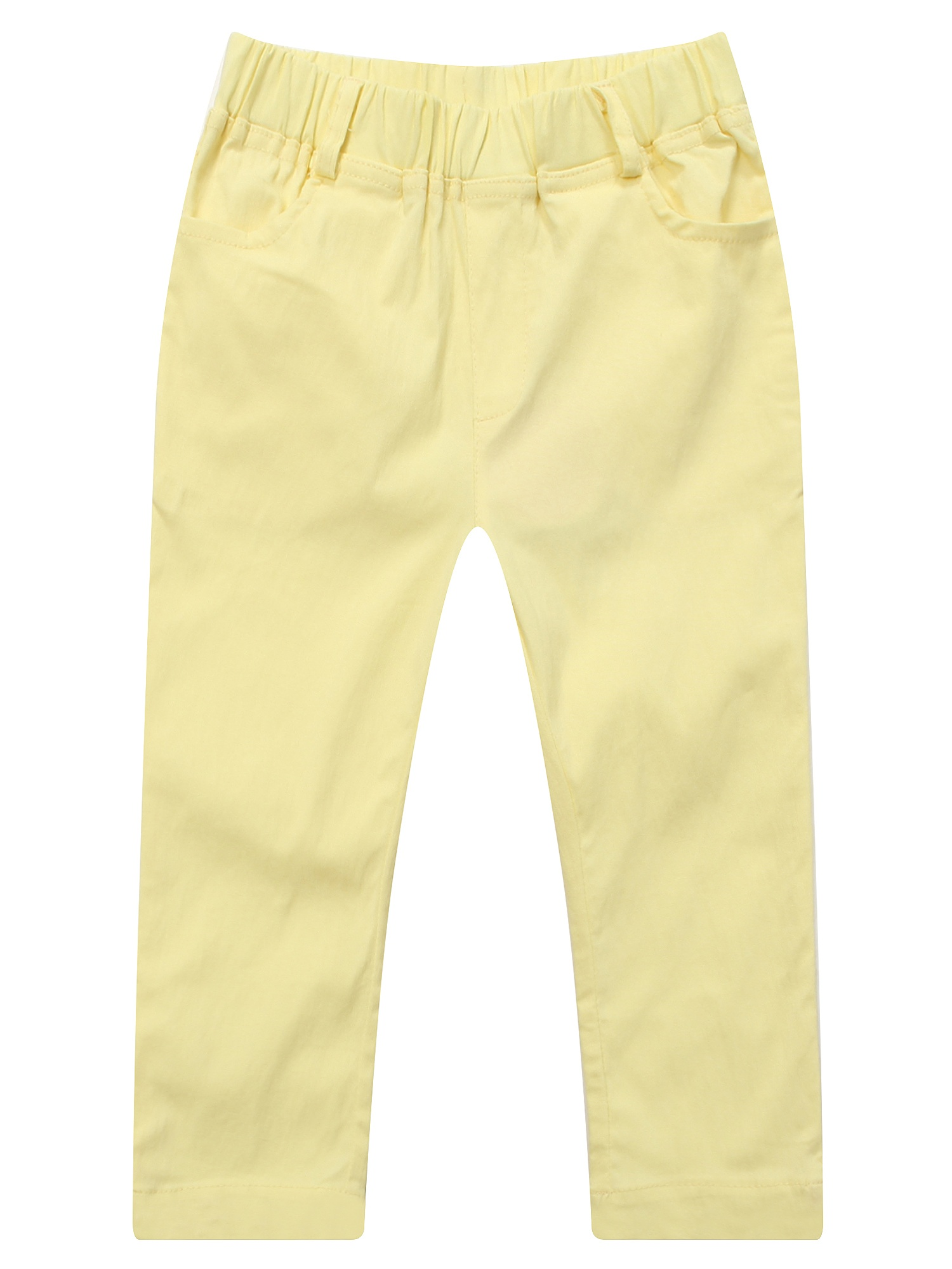 Richie House Girls' Trousers with Elastic Waistband RH0974