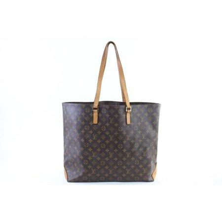 ad40e5c6c63f Louis Vuitton - Cabas Alto 225225 Brown Monogram Canvas Tote - Walmart.com
