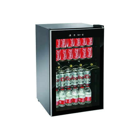 Igloo 110-Can Adjustable Temp Beverage and Wine Center, Black