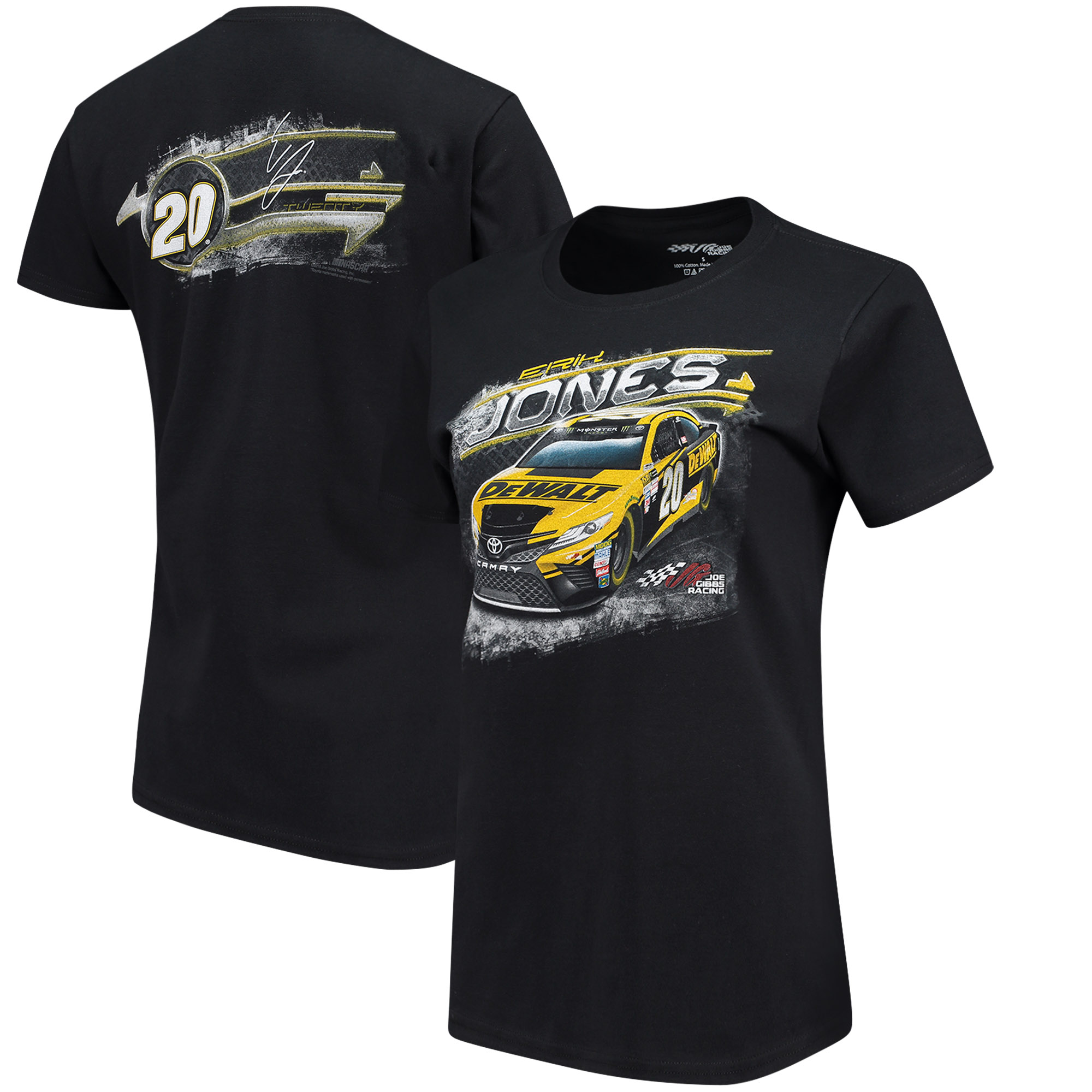 Erik Jones Women's Car T-Shirt - Black