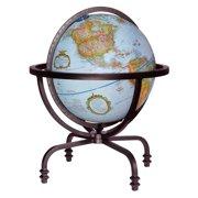 Replogle Auburn 12 in. Blue Desk Globe
