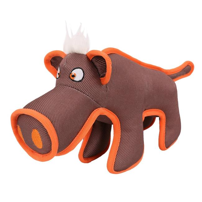 Dura Chew Tugging Dog Toy, Brown - One Size